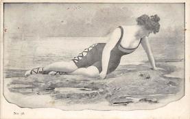 top027987 - Bathing Beauty Post Card