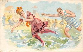 top027995 - Bathing Beauty Post Card