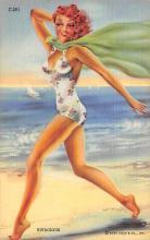 top028001 - Bathing Beauty Post Card