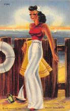 top028029 - Bathing Beauty Post Card