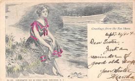 top028045 - Bathing Beauty Post Card