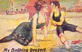 top028059 - Bathing Beauty Post Card