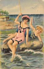 top028081 - Bathing Beauty Post Card