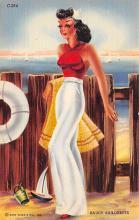 top028103 - Bathing Beauty Post Card