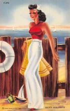 top028127 - Bathing Beauty Post Card