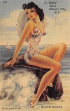 top028135 - Bathing Beauty Post Card