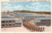 top028287 - Military Camps Post Card
