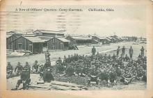 top028341 - Military Camps Post Card