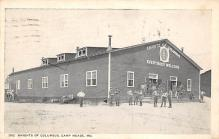 top028345 - Military Camps Post Card