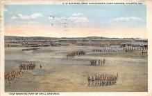 top028347 - Military Camps Post Card