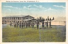 top028359 - Military Camps Post Card