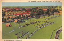 top028425 - Military Camps Post Card