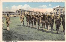 top028437 - Military Camps Post Card