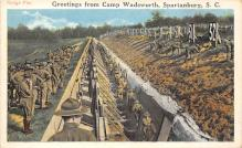top028439 - Military Camps Post Card