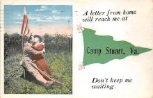 top028445 - Military Camps Post Card