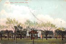 top028451 - Military Camps Post Card
