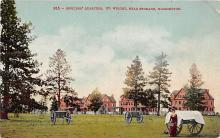 top028457 - Military Camps Post Card