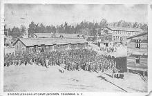 top028461 - Military Camps Post Card