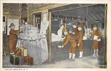 top028463 - Military Camps Post Card