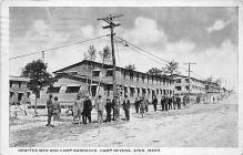 top028479 - Military Camps Post Card