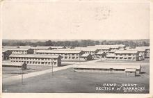top028485 - Military Camps Post Card