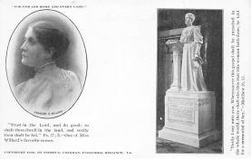 top030645 - Frances E. Willard - Womans Rights to Vote Suffragette Vintage Postcard