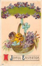 top090589 - Holiday Easter Post Card Old Vintage Antique