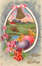 top090595 - Holiday Easter Post Card Old Vintage Antique