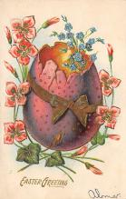 top090601 - Holiday Easter Post Card Old Vintage Antique