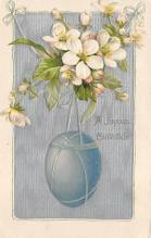 top090611 - Holiday Easter Post Card Old Vintage Antique