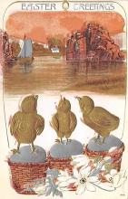 top090613 - Holiday Easter Post Card Old Vintage Antique