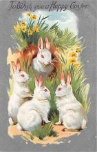 top090617 - Holiday Easter Post Card Old Vintage Antique