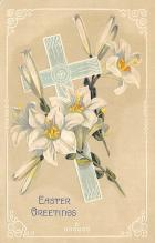 top090619 - Holiday Easter Post Card Old Vintage Antique
