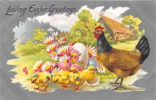 top090627 - Holiday Easter Post Card Old Vintage Antique