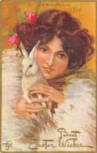 top090669 - Holiday Easter Post Card Old Vintage Antique