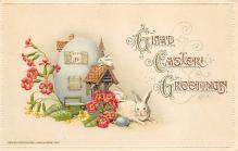 top090677 - Holiday Easter Post Card Old Vintage Antique