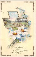 top090679 - Holiday Easter Post Card Old Vintage Antique