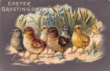 top090695 - Holiday Easter Post Card Old Vintage Antique