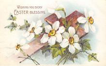 top090705 - Holiday Easter Post Card Old Vintage Antique