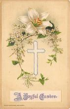 top090719 - Holiday Easter Post Card Old Vintage Antique