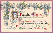 top090723 - Holiday Easter Post Card Old Vintage Antique