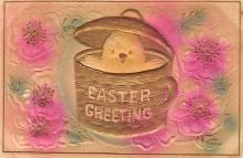 top090725 - Holiday Easter Post Card Old Vintage Antique