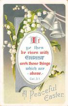 top090727 - Holiday Easter Post Card Old Vintage Antique