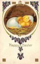 top090731 - Holiday Easter Post Card Old Vintage Antique