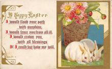 top090735 - Holiday Easter Post Card Old Vintage Antique