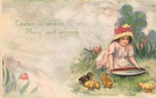 top090739 - Holiday Easter Post Card Old Vintage Antique