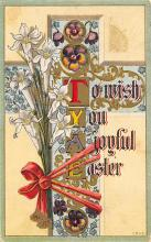 top090761 - Holiday Easter Post Card Old Vintage Antique