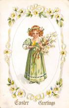 top090765 - Holiday Easter Post Card Old Vintage Antique