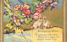 top090771 - Holiday Easter Post Card Old Vintage Antique