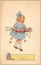 top090779 - Holiday Easter Post Card Old Vintage Antique